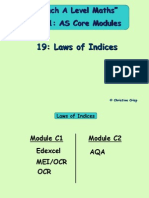 19- Laws of Indices