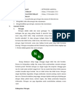 Laporan Praktikum Nitrogen-Amonia