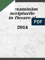 Textul Zilei 2014