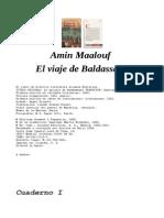 Amin Maalouf - El Viaje de Baldassare