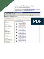 Cara Update Manual Antivirus Avast