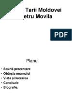 Relatile Tarii Mldovei Cu Petru Movila.caraman Ion