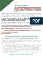 Direitos Paroquiais Doc CAE-Cartaz