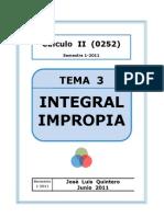 integrales impropia