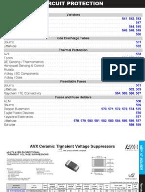 150V BOURNS 2036-15-SM-RPLF GAS DISCHARGE TUBE 5 pieces SMD