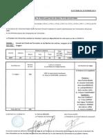 PV de Proclamation Des Resultats Des Elections 2014 UFR LLSH