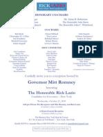 RL Romney E-Mail Invite