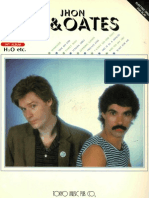 Book - Hall & Oates - Daryl Hall & Jhon Oates (Keyboard Transcriptions)