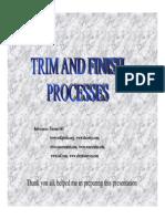 007 - Presentation on Trim and Finish
