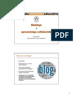Edublogs i aprenentatge col·laboratiu (Trobades UV 2014)