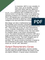 A Bipolar Junction Transistor(1)