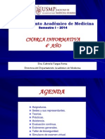CHARLA INFORMATIVA CUARTO AÑO 24FEB2014
