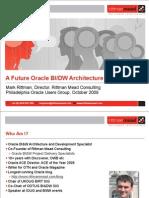 A Future Oracle BIDW Architecture