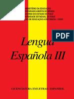 Lengua Espanola 3