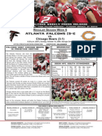 Atlanta Falcons vs. Chicago Bears Game 5