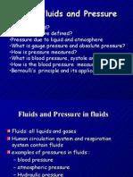 Unit 6 Fluids and Pressure