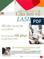 Tật khúc xạ và Lasik/Lasek/PRK phần 3. Bệnh viện Mắt Cao Thắng ở tphcm, Cao Thang Eye Hospital
