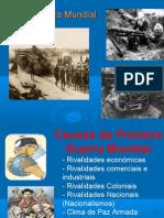 A 1º Guerra Mundial