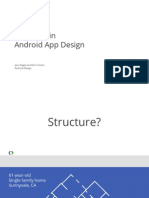 118 - I_O 2013- Structure in Android App Design