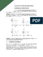 Propietatile Functiilor Derivabile(Teorie)
