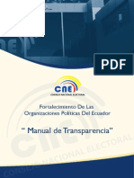 Manual de Transparencia