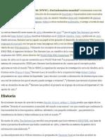 World Wide Web - Wikipedia, La Enciclopedia Libre