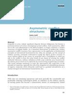 Asymmetric Conflict Structures