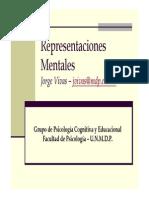 Representaciones Mentales