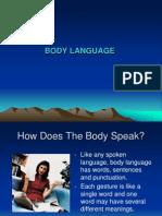 Cross Cultural Body Language