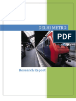 Delhi Metro_Research Report