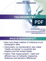 TACHEOMETRY(1)