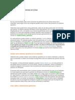 Crear y Editar Particiones en Linux