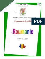 programme de la mobilite roumaine