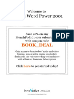 Learn French - Vocabulary2001 - 2011