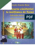 Ridicarea Casatoriei La Inaltimea de Taina - Pr. Arsenie Boca