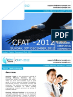 Cfat Brochure - Candidate