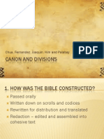 Canon and Divisions
