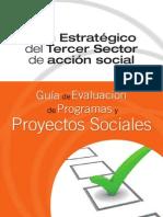 Plan Estartegico del Tercer Sector de Acción Social- Guía de Evaluación