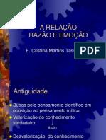 Apresentacao - 2009 - Relacao Razao e Emocao - Cristina TASSONI