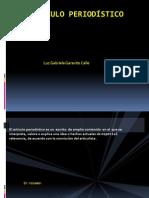 elarticuloperiodistico1-120917151218-phpapp02