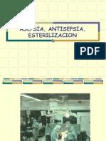 Asepsia, antispesia, esterilización