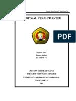 Proposal KP PTBA