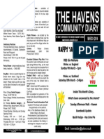 The Havens Community Diary March 2014