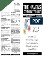 The Havens Community Diary January 2014