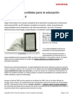 5 Tendencias Mundiales Educacion Superior 2014