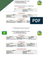Tabela 1a Fase Metropolitana 2014