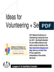 Strategic Volunteering and Service