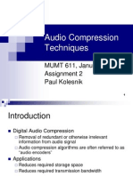 Audio File Format | Data Compression | Mp3