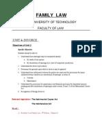 Lecture Notes Unit 4 Divorce