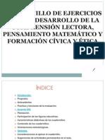 CUADERNILLO DE EJERCICIOS PARA EL DESARROLLO DE LA COMPRENSIÓN LECTORA.ppsx